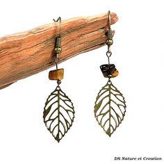 Boucles d oreilles pendantes bijou pierre par DSNatureetCreation https://www.etsy.com/fr/listing/241928995/boucles-d-oreilles-pendantes-bijou