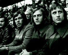 Gerrie Muhren, Dick van Dijk, Johan Neeskens, Johan Cruyff