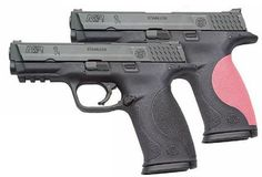 Smith & Wesson M&P 9mm - aka The Marshall, in pink of course.