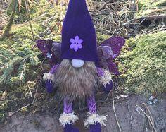 Primavera repurposed Felted Minny Gnome
