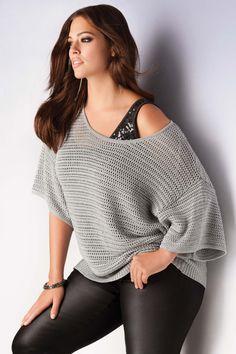 Addition Elle Holiday Lookbook 2012, sequins, plus size