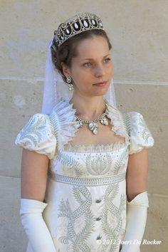Irina Mishanina at Malmaison - Regency Dress - beautiful
