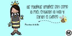 Proverbios 16:24