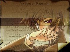 Code Geass. Lelouch is probably one of my favorite characters to date, not only because he is awesome, but because he struggled through so much and he did what he did because he truly believed that's what would save his world. But like all good characters, he fell but was brought back up again by the people around him and came to a new goal, even at the cost of his life. Lelouch, in my opinion, is a true hero.