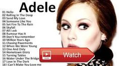 Adele All Songs 17 Adele Greatest Hits Playlist Music In The World  Adele All Songs 17 Adele Greatest Hits Playlist Music In The World