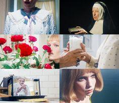 Rosemary's Baby Rosemary's Baby, Unknown Pleasures, Mia Farrow, Roman Polanski, Rose Marie, My Favorite Things, Movies, Films, Movie Quotes