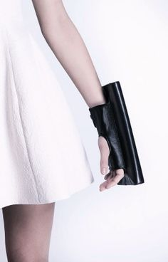Perrin Paris | Manchette Black Clutch