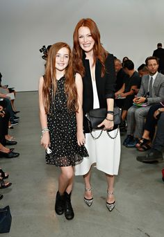 Julianne Moore and her daughter, Liv.