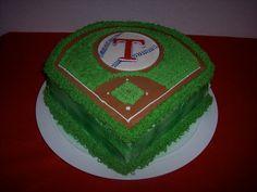 Texas Baseball cake