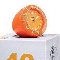 40Nine 45mm Orange Clock