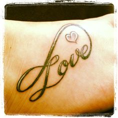Infinite Love Tattoo