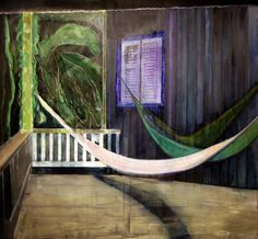 urgetocreate — Peter Doig, Balcony (North Coast), 2013, Oil,...