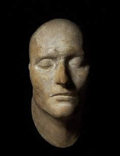 An extraordinary cast of the death mask of the French Emperor Napoleon Bonaparte, made shortly after his death on the island of St Helena on 5 May 1821