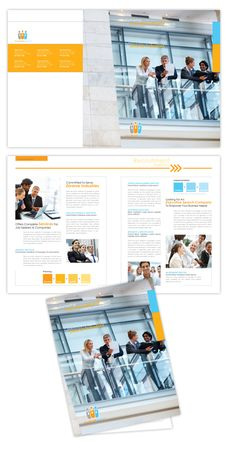 HR Recruitment Company Brochure Template Design | dLayouts®