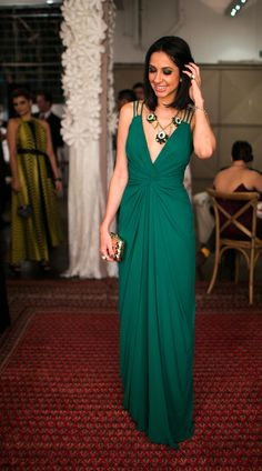 beautiful green dress *_*