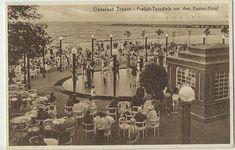 Ostseebad Zoppot - Freiluft-Tanzdiele vor dem Kasino-Hotel 1926