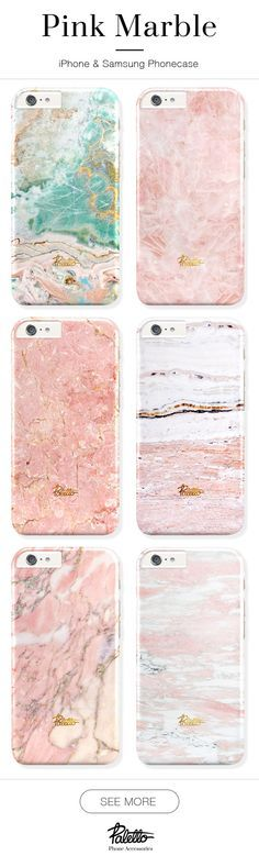 PINK marble phone case. Available for iPhone 6/6s, 6/6s plus, 5/5s/5c & Samsung galaxy S5, S6. Free shipping worldwide.