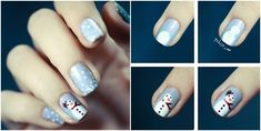 20+ Cutest Christmas Nail Art DIY Ideas