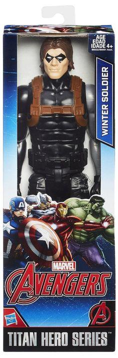 """Winter Soldier Avengers 12"""" Titan Hero Action figure"""
