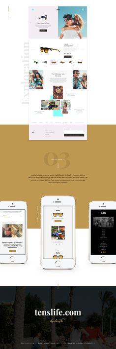 Tens Website Redesign on Behance