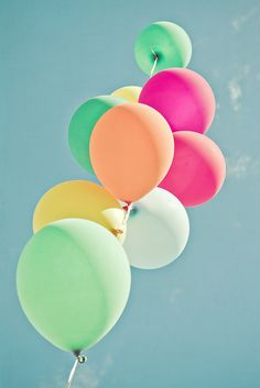 #Goodly #Balloons #Colors ♥