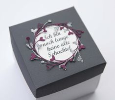 POST NR° Exploding Boxes, Stampin Up, Diy And Crafts, Place Card Holders, Scrapbook, Templates, Blog, Wedding, Punch Board