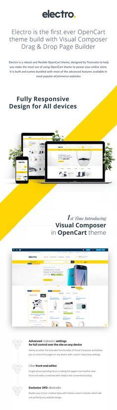 Electro Electronics Store OpenCart Theme