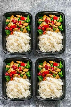 Cashew Chicken is the perfect easy 20 minute meal that is perfect for curbing that takeout craving. Best of all, this is healthier and better for you than the one you'll find at the popular Chinese restaurant. Super easy to make with paleo friendly options. Plus a serving of tender crisp broccoli and bell peppers for a healthier meal. Perfect for busy weeknights! Plus a step-by-step how to video! Weekly Sunday meal prep for the week and leftovers are great for lunch bowls & lunchboxes for…
