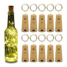 Empty Wine Bottles, Wine Bottle Corks, Lighted Wine Bottles, Bottle Lights, Wine Bottle Crafts, Wine Bottle Garden, Crafts With Glass Bottles, Wine Bottle Lamps, Decorative Wine Bottles