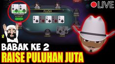 Meja Poker IDN PLAY Paling Panas, Raise sampai Puluhan Juta !! | Part 2 Poker, Raising, Play, Youtube, Youtubers, Youtube Movies