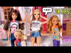 Barbie says yes to everything her sisters say for 24 hours. In this kid friendly version of the challenge, Barbie must say yes to everything for a day! Barbie Sisters, Barbie Family, Indoor Play Places, Lol Dolls, Doll Toys, American Girl, Kids Toys, Ted, Challenges