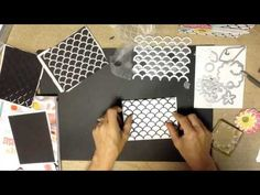 How to use the Stampin' Up! Striped Scallop Thinlit  - RemARKable Creations