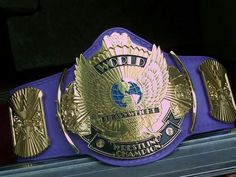 Ultimate Warrior wore this type of Winged Eagle title at Royal Rumble.when he lost to Sgt. Wrestling Quotes, Sgt Slaughter, Wwe Tna, Royal Rumble, Professional Wrestling, Mixed Martial Arts, My Favorite Part, Champion, Belt