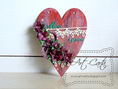 Art-Carta  : Ukwiecone serce