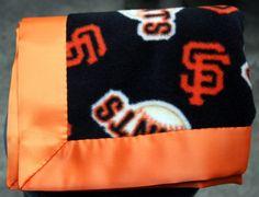 Great gift idea!!  Custom MLB Baseball Fleece and Satin Baby by RoseJadeHandmade, $19.99