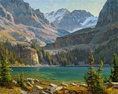 "CLYDE ASPEVIG, ""Lake O'Hara"" (oil, 24x30)"