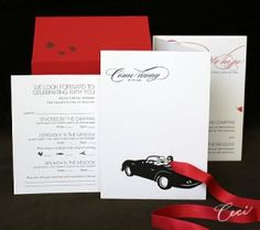 car wedding invitations Archives | The Wedding Specialists