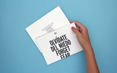 No. 0 | Dale by Eugenia Mello, via Behance
