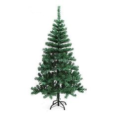 Premium Artificial Christmas Pine Tree Solid Metal Legs 6 Feet -- Be sure to check out this awesome product.