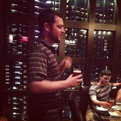Mike Spratlley, Co-Founder & Brewer for Blue Pants Brewery at our May Craft Beer Dinner in Ariccia #craftbeer
