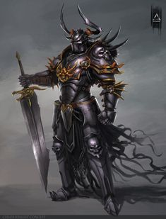 Chaos Knight by YENIN.deviantart.com on @DeviantArt