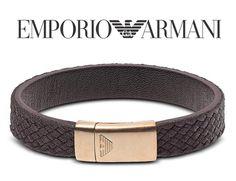 EMPORIO ARMANI - luxusný pánsky kožený náramok, dĺžka: 20,5cm Emporio Armani, Belt, Accessories, Fashion, Luxury, Belts, Moda, Fashion Styles, Fashion Illustrations