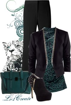 """""""Woman in Charge"""" by lv2create on Polyvore"""