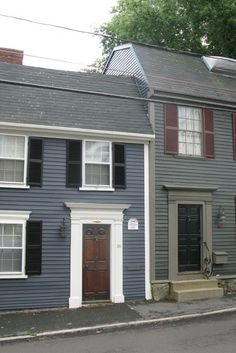 exterior home colors {new england style}