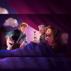 Kristoff wants Elsa to go read a story in her ice castle to Olaf and the snowgies Frozen Book, Frozen Fan Art, Frozen And Tangled, Disney Frozen, Frozen Pics, Emo Disney, Disney Dream, Disney Fun, Jelsa