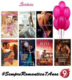 Sorteio #SempreRomantica7Anos - Harlequin Brasil