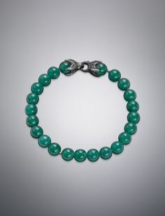 Spiritual Bead Bracelet, Green Onyx, 8mm | Men Layering Bracelets LAYERING BRACELETS | David Yurman