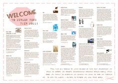 Dublin Zine Fair programme Zine, Dublin, Graphic Design, Books, Libros, Book, Book Illustrations, Visual Communication, Libri