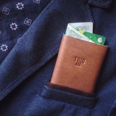 No pockets in the world where the Trio will not fit.   #design #minimalism #leather #wallet #triowallet #menswear #style #inspiration #mensclothing #streetwear #luxury #bellroy #slim #accessories