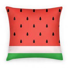 Watermelon Pillow #watermelon #pillow #home